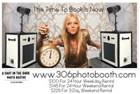 24 Hour Professional  Photo Booth Rental $100