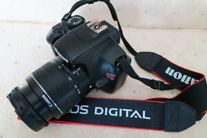 Canon EOS T3 Camera with 3 lenses