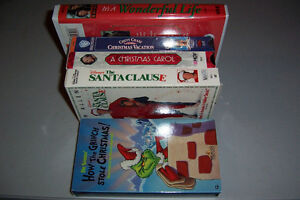 Christmas VHS Classic + Workout Videos Movies