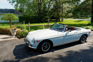 1972 MGB with overdrive