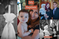 Photographer: Baptisms, Weddings & Events