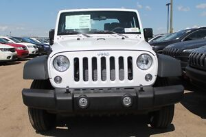 2016 JEEP WRANGLER SPORT MANUAL READY TO HIT THE TRAILS 16W22715