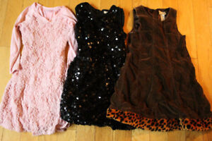 size 7-8 girls dresses $8 each or all 3 for $15