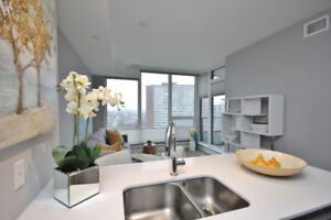 Stylish WESTBORO Condo - River view - Exceptional Gym (Mid-July)