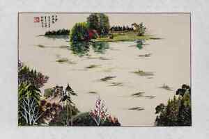 Chinese landscape water painting