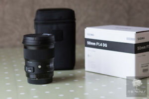 Sigma 50mm F1.4 Art For Nikon Mount