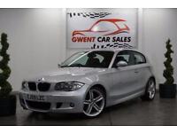 2010 59 BMW 1 SERIES 2.0 120D M SPORT 3D 175 BHP DIESEL