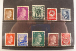 WW2 stamps from germany