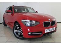2013 63 BMW 1 SERIES 1.6 118I SPORT 5DR 168 BHP