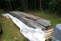 133 sq yards of spruce beveled siding
