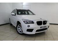 2012 12 BMW X1 2.0 XDRIVE18D M SPORT 5DR 141 BHP DIESEL