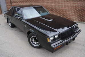 1987 Buick Regal Grand National - ONE OWNER LOW KMS SURVIVOR!