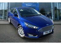 2016 Ford Focus 1.5 TDCi 120 Titanium 5dr *** TEST DRIVE NOW SHOWROOM OPEN *** M