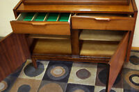 Walnut Mid Century condo Petite Dining Table & Chairs  SEE VIDEO