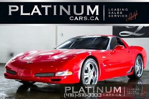 2002 Chevrolet Corvette Z06/ COUPE/ 5.7L 405HP/ HEAD-UP DISPLAY/