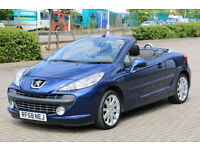 Peugeot 207 CC Convertible Cabriolet Hdi Diesel
