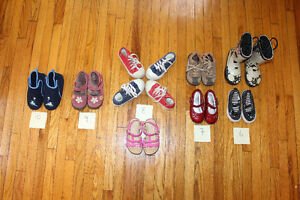 Kids shoes various size 6-10