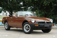 1980 MGB Low Low Miles Exceptional Collectible Car