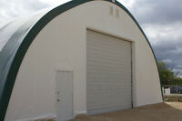 Portable Fabric Structures Winter Sale