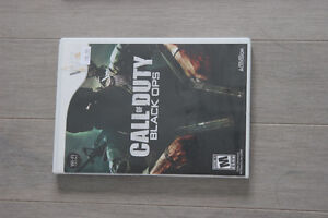 Video Game Call of Duty Black Ops Nintendo Wii