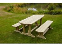 Devon Dining Table & Bench Set - free delivery across NI
