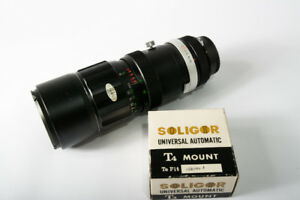 Soligor 75-260mm for Nikon with miranda mount adapter.