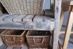 Kitchen Island rustic solid wood -UNIQUE Kitchener / Waterloo Kitchener Area image 2