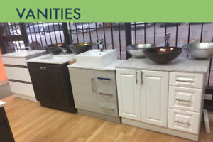 BATHROOM VANITIES FLOATING VANITY CUSTOM VANITY COUNTERTOPS TAPS