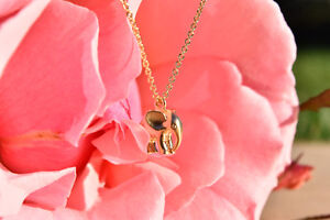 Gold Elephant Necklace- Brand New & Etsy Shop Necklace