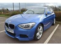 2013 63 BMW 1 SERIES 2.0 120D M SPORT 5DR 181 BHP DIESEL