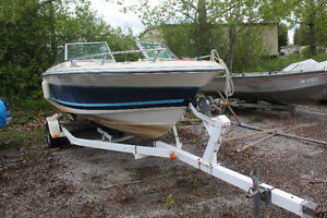 Doral bowrider boat with trailer for sale!