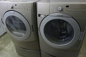 front load get a great deal on a washer dryer in