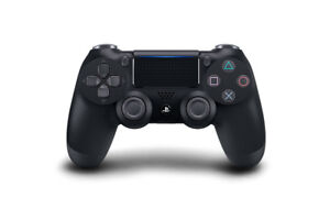 DualShock 4 Jet Black Controller - PlayStation 4