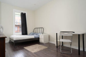4 bedroom furnished apartment- 4 chambres meublé- McGill ghetto