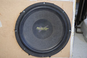 Phoenix Gold XS 124 4Ohm Single Coil Subwoofer speaker with box