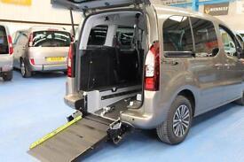 Automatic Peugeot Partner Auto Wheelchair car 3 / 5 seats M1 spec disabled 2013
