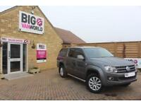 2014 VOLKSWAGEN AMAROK TDI 180 HIGHLINE 4MOTION DOUBLE CAB WITH TRUCKMAN TOP AUT