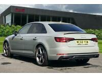 2019 Audi A4 Black Edition 40 TFSI 190 PS S tronic Semi Auto Saloon Petrol Auto