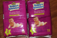 Teddy's Size 2 diapers