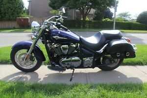 Mint Condition Kawasaki Vulcan 900 Classic - Low KMS! Cambridge Kitchener Area image 4