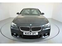2014 BMW 5 Series 2.0 520D M SPORT 4d 188 BHP-2 FORMER KEEPERS-HEATED OYSTER DAK