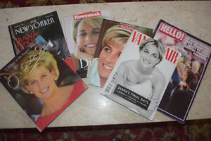Lady Diana Collection Memorial Magazines