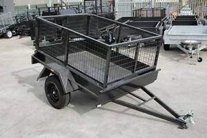 6x4 Cage Trailer - 2ft Cage - Barn Doors with Open Position Lock Thomastown Whittlesea Area Preview
