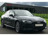 2021 Audi A4 Sport Edition 30 TDI 136 PS S tronic Auto Saloon Diesel Automatic