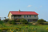 Country Home Located on an Organic Farm