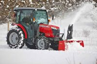 snow removal , tractor & snow blower , plow truck
