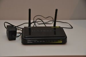 Trendnet TEW 652 router, Thompson TG585v8 modem