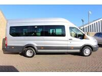 2014 FORD TRANSIT 460 TDCI 155 L4 H3 TREND 18 SEAT BUS MINIBUS DIESEL