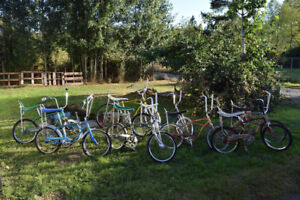 Want Vintage Schwinn stingrays, Krates, Fastbacks, and others...
