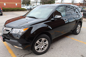2009 ACURA MDX TECH PKG SUNROOF LEATHER 7 SEATER 3 YEAR WARRANTY